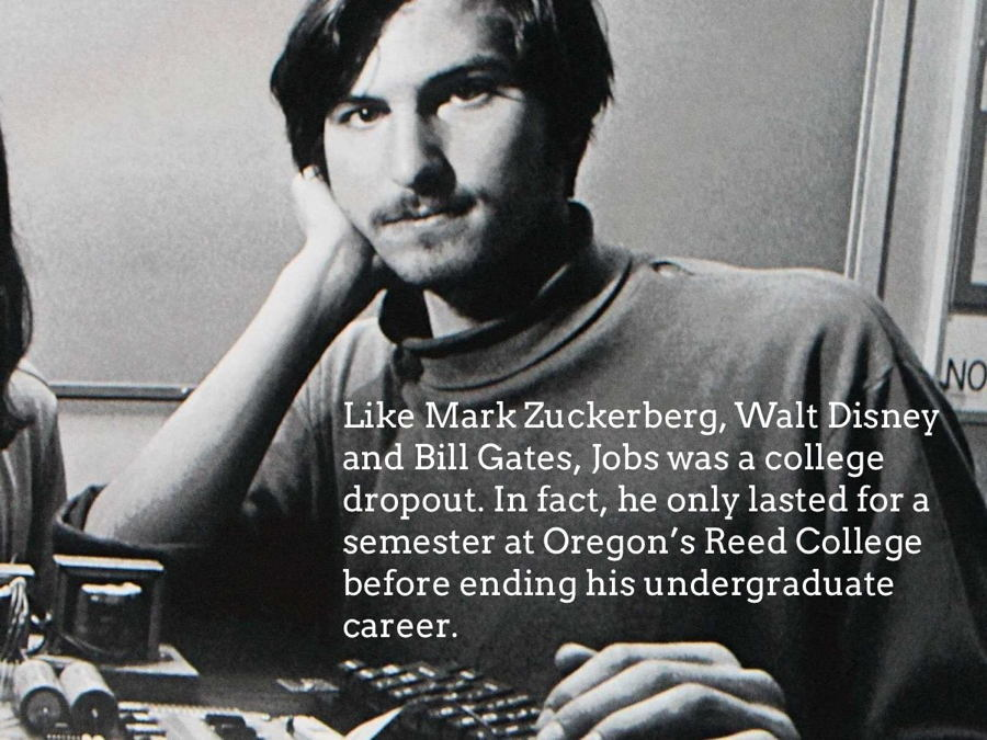 Steve Jobs Facts Ropout