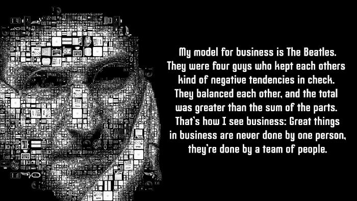 Steve Jobs Model For Business