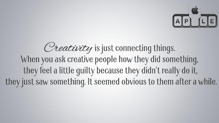 Steve Jobs On Creativity