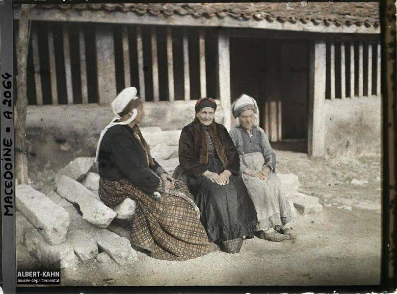 Three Women Sitting Down