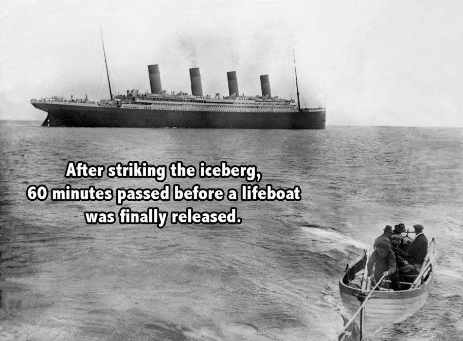 Titanic Boat Far Words