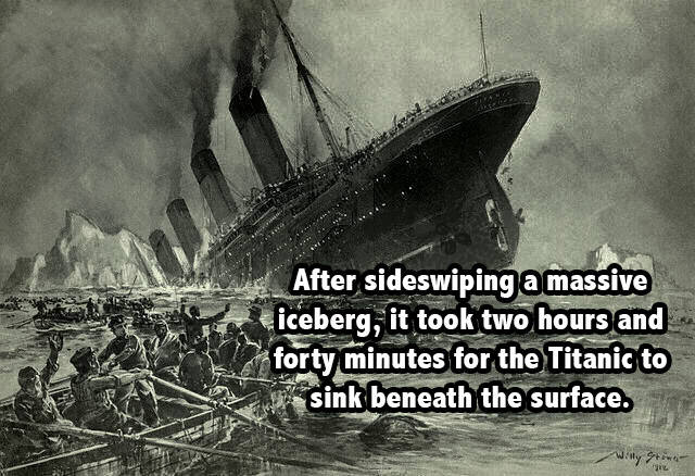 Titanic Going Down