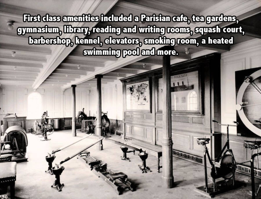 Titanic Gym Words