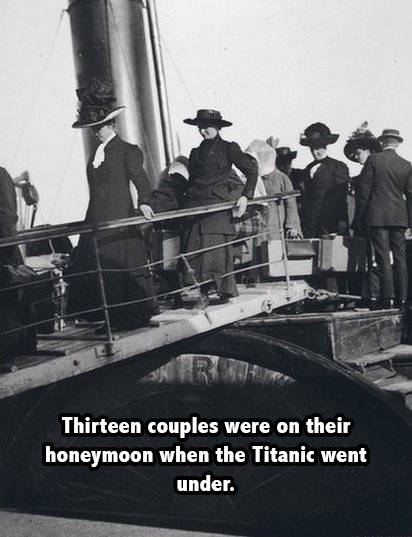 Titanic Women Honeymoon