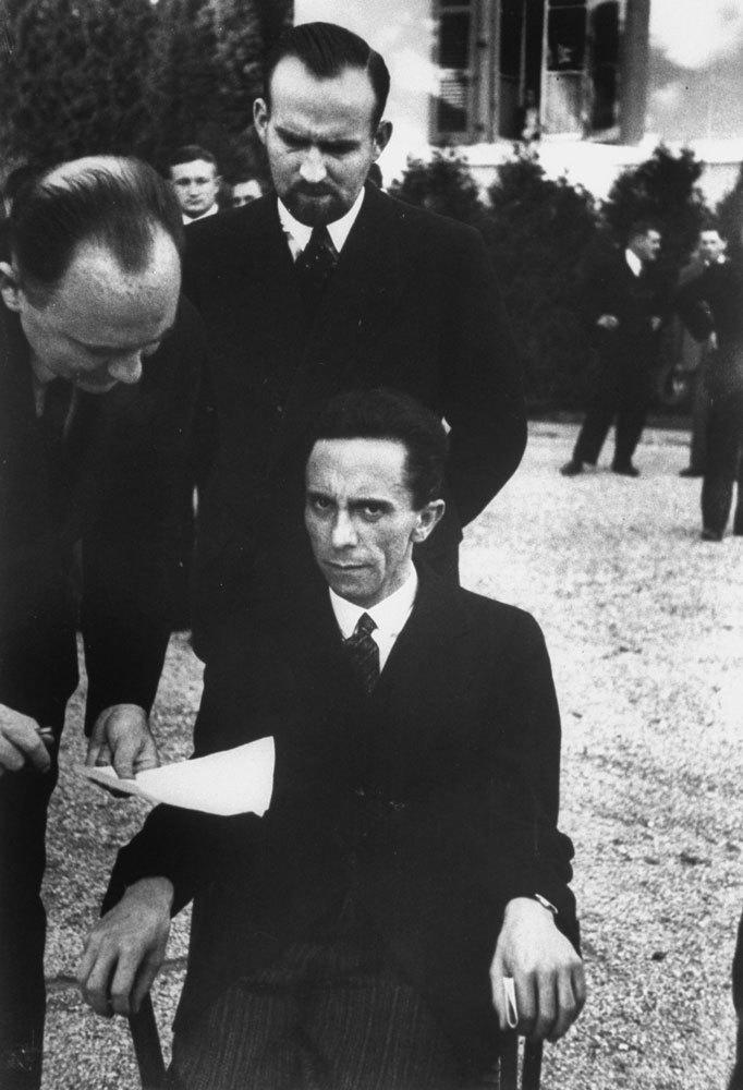 Joseph Goebbels Portrait