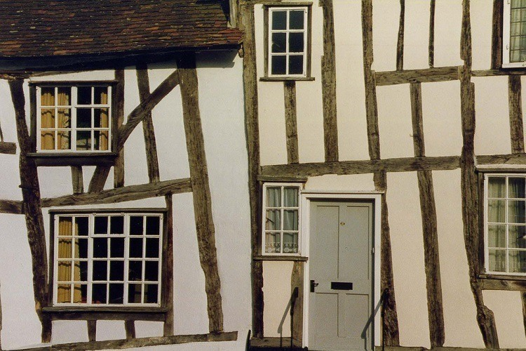 Wall Crooked Houses