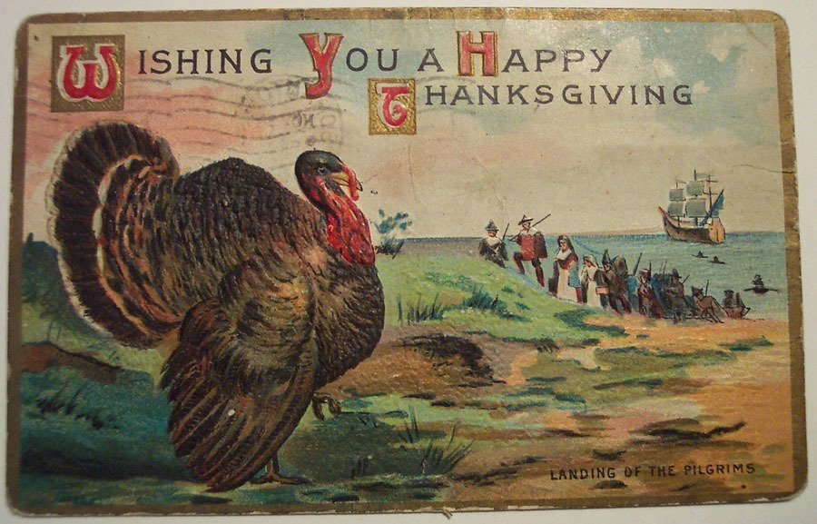 Weird Vintage Thanksgiving Pictures 7
