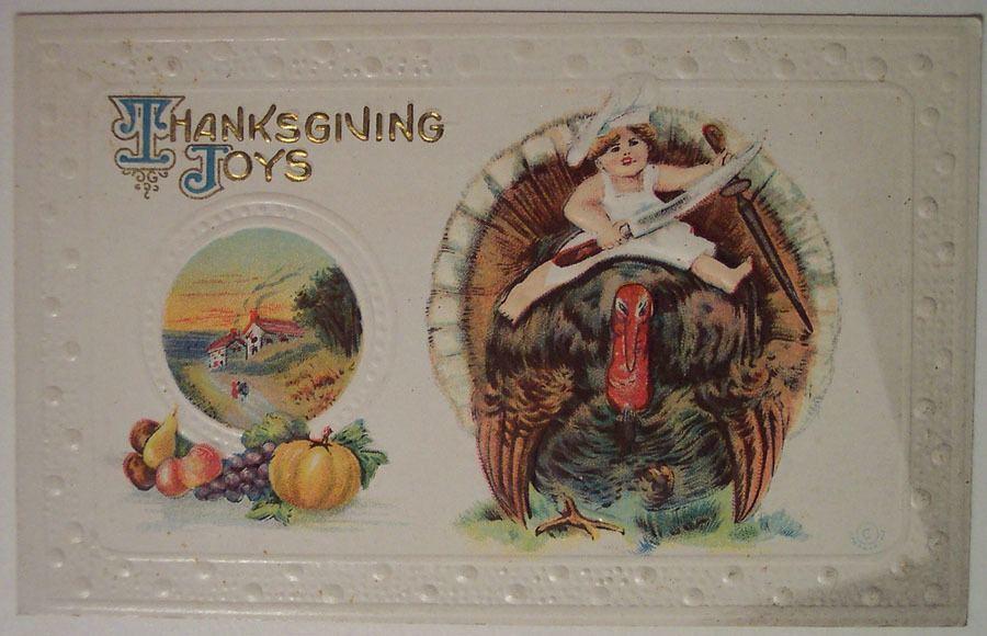 Weird Thanksgiving Photos Butcher