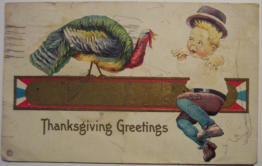 Weird Thanksgiving Photos Creepy Kid