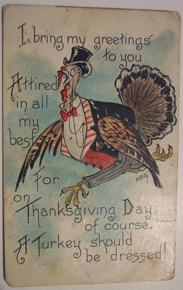 Weird Thanksgiving Photos Dressed