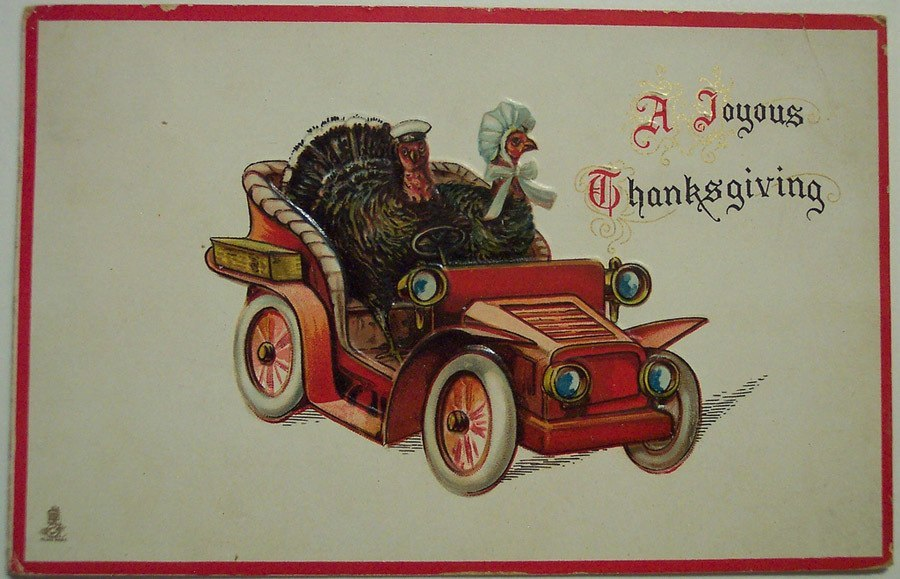 Weird Thanksgiving Photos Driving