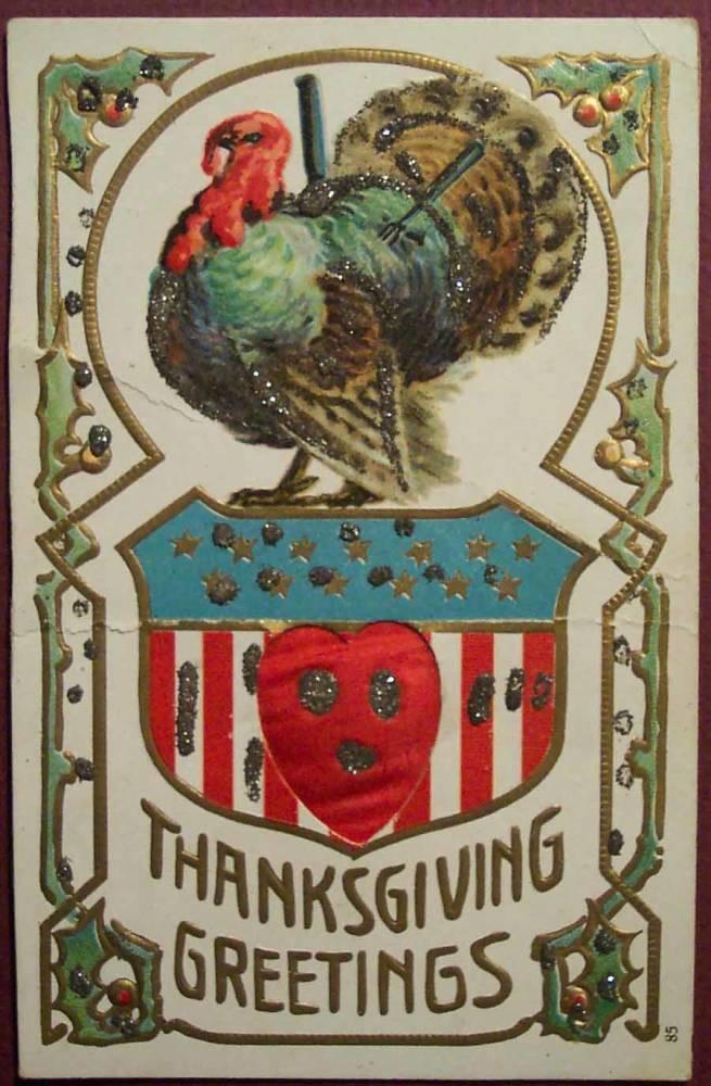 Weird Thanksgiving Photos Knife Fork