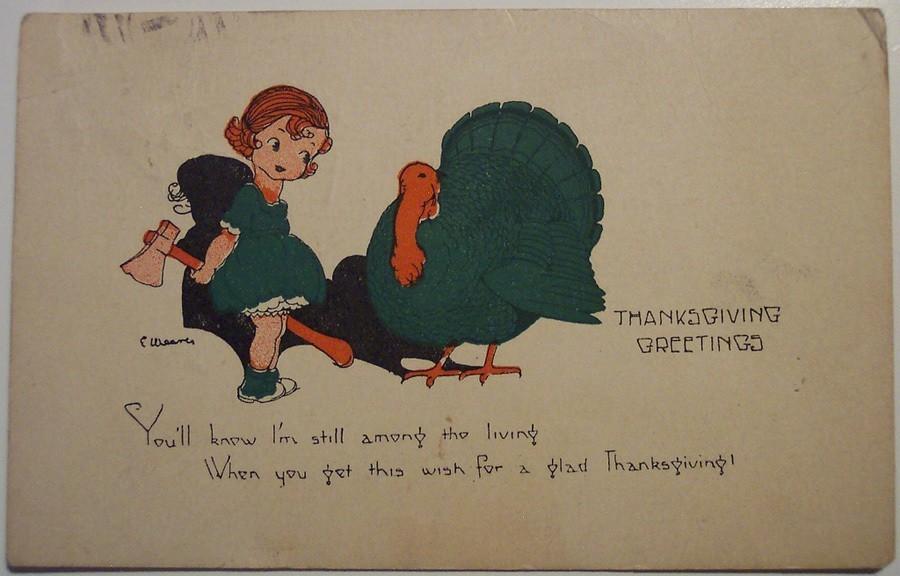 Weird Thanksgiving Photos Living