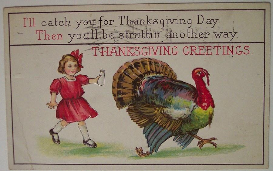 Weird Thanksgiving Photos Salt Shaker