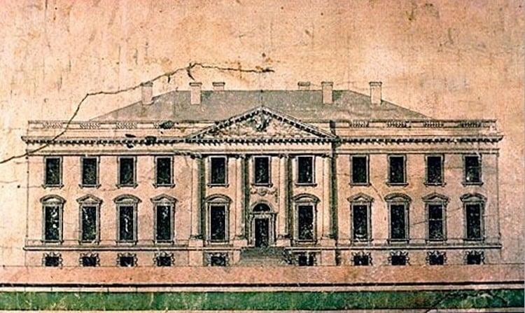 White House Original Sketch