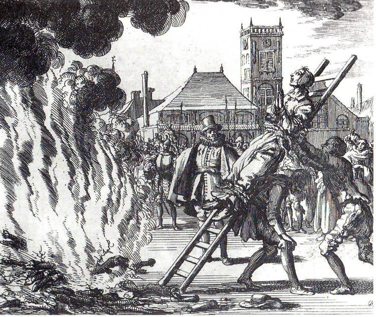Witch Hunt Medieval Europe