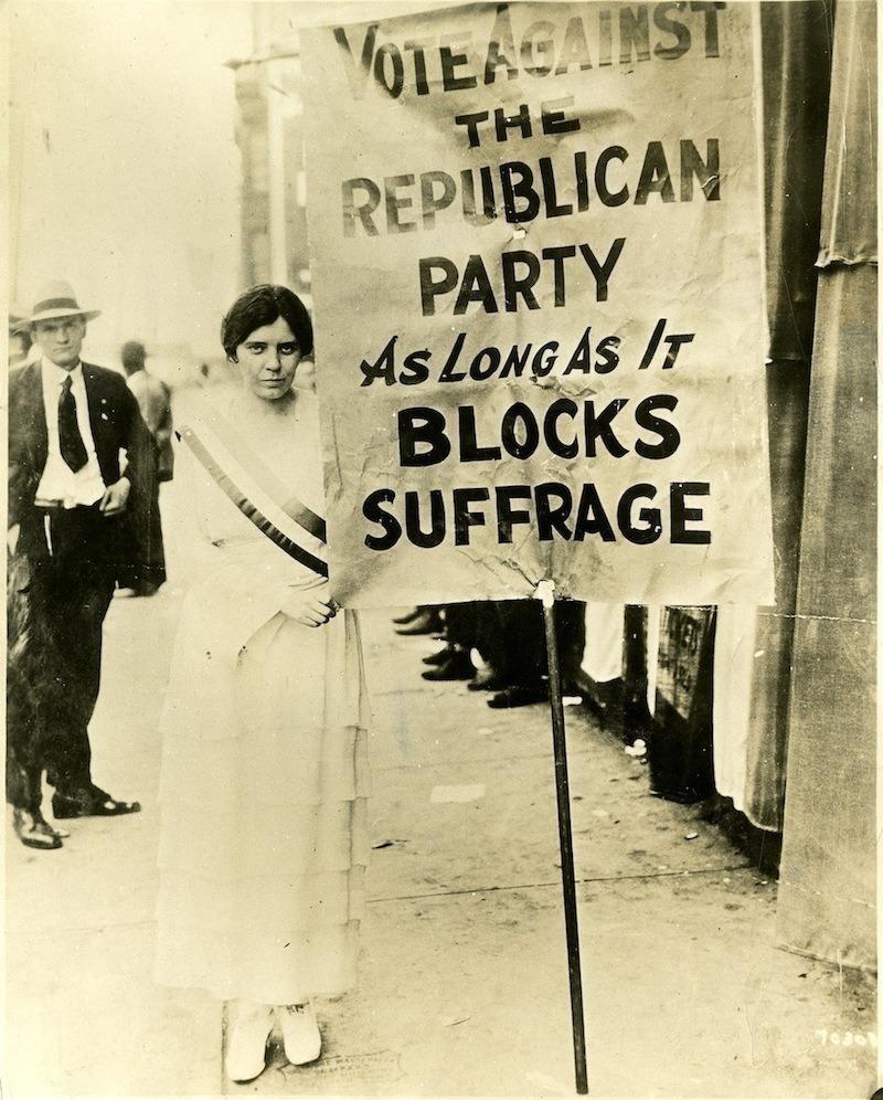 Women Suffrage Alice Paul