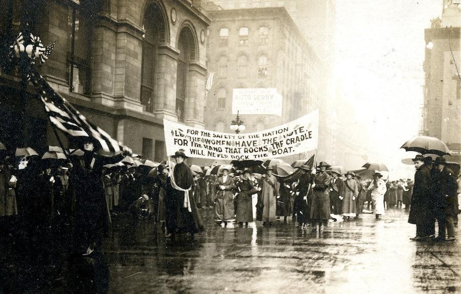 Women Suffrage Safety Nation