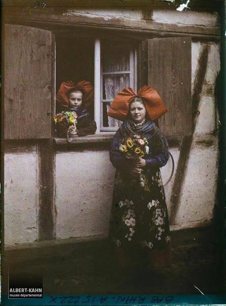 Young Women In Headwear
