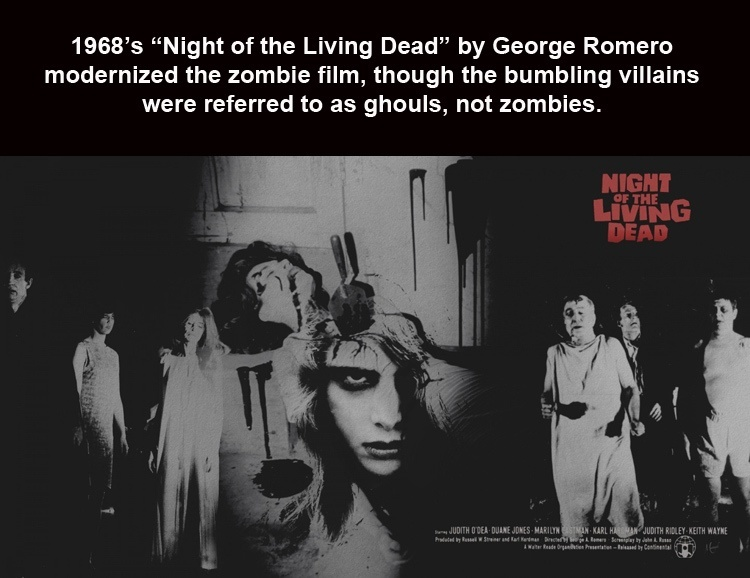 Night Of The Living Dead Fact