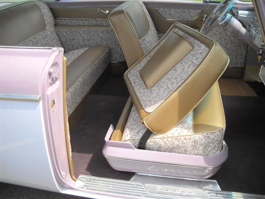 1955 Dodge LaFemme Back Seat