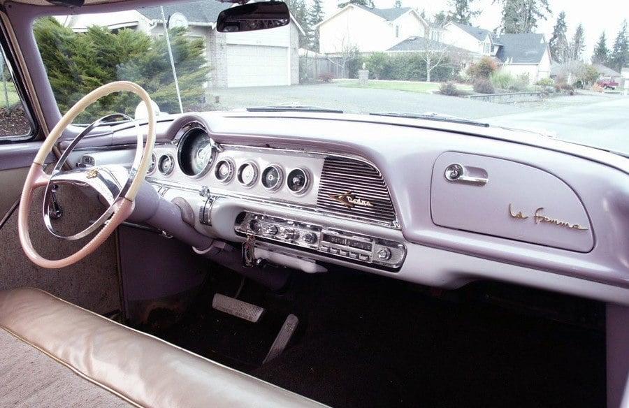 1955 Dodge La Femme Dashboard