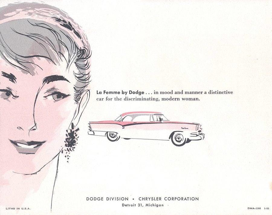 Dodge La Femme hirdetés