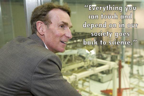 Bill Nye lab