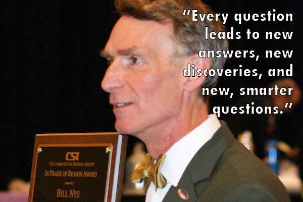 Bill Nye award