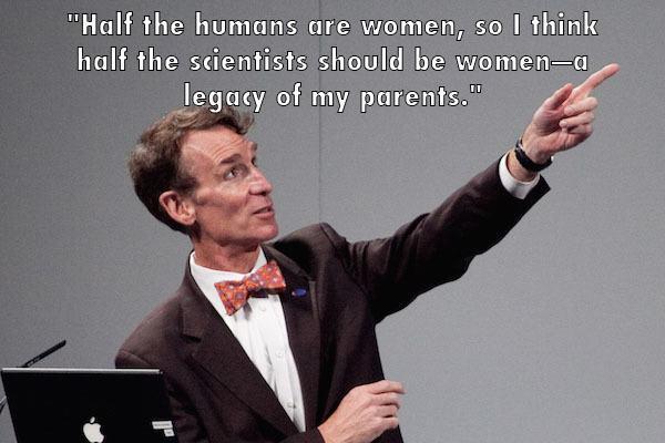 Bill Nye Pointing