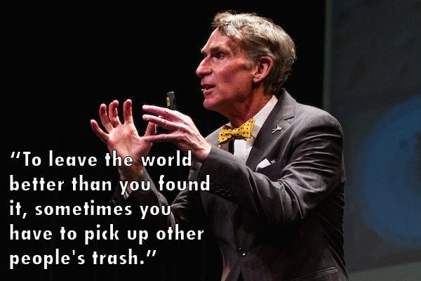 Bill Nye Speech