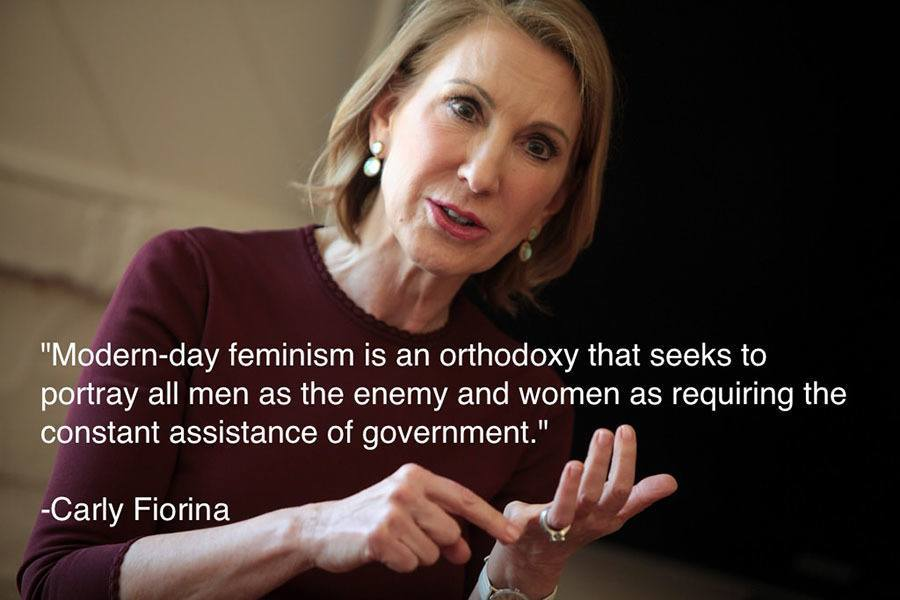Carly Fiorina Feminism