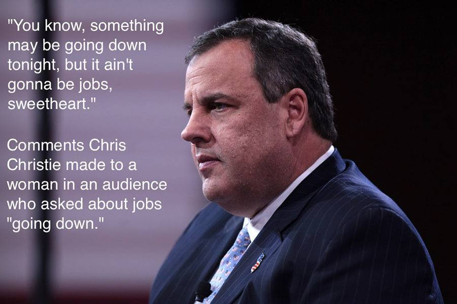 Chris Christie Sweetheart