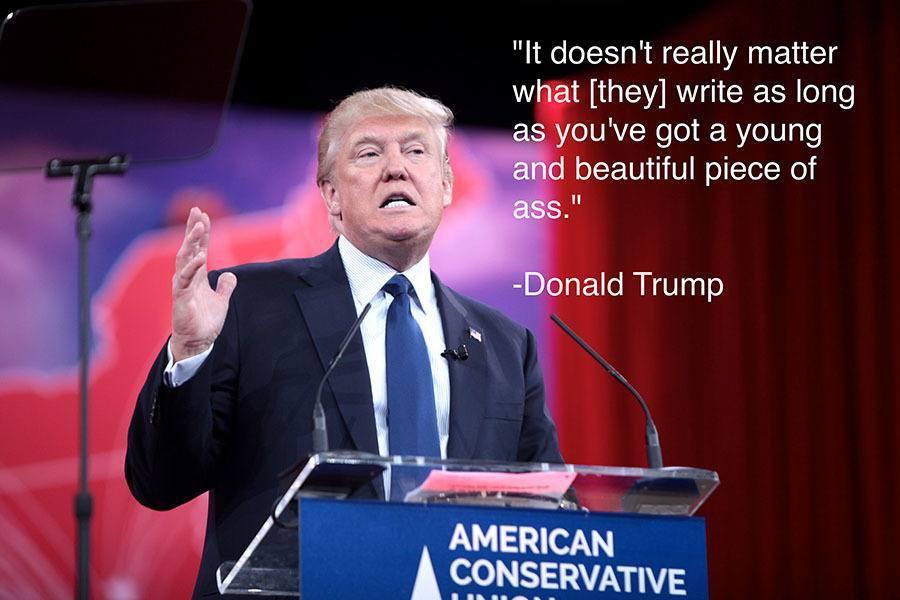 Donald Trump Piece Of Ass