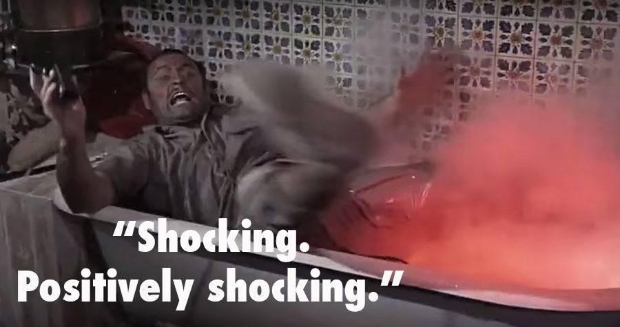 Goldfinger Electrocution