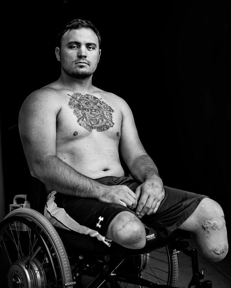 Inspirational Veteran Portraits Michael Fox