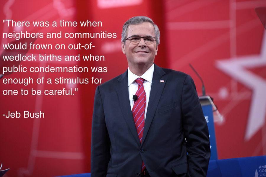 Jeb Bush Community Shame