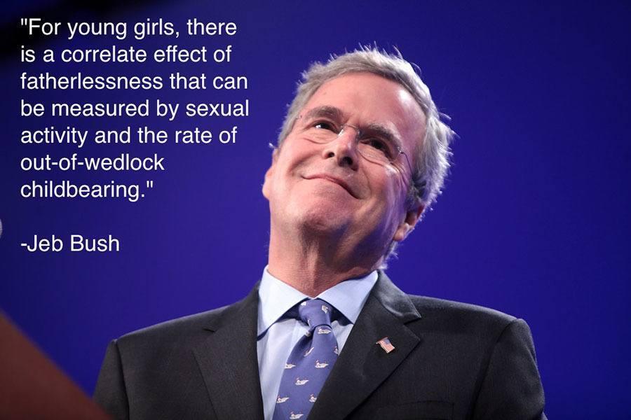 Jeb Bush Fatherlessness