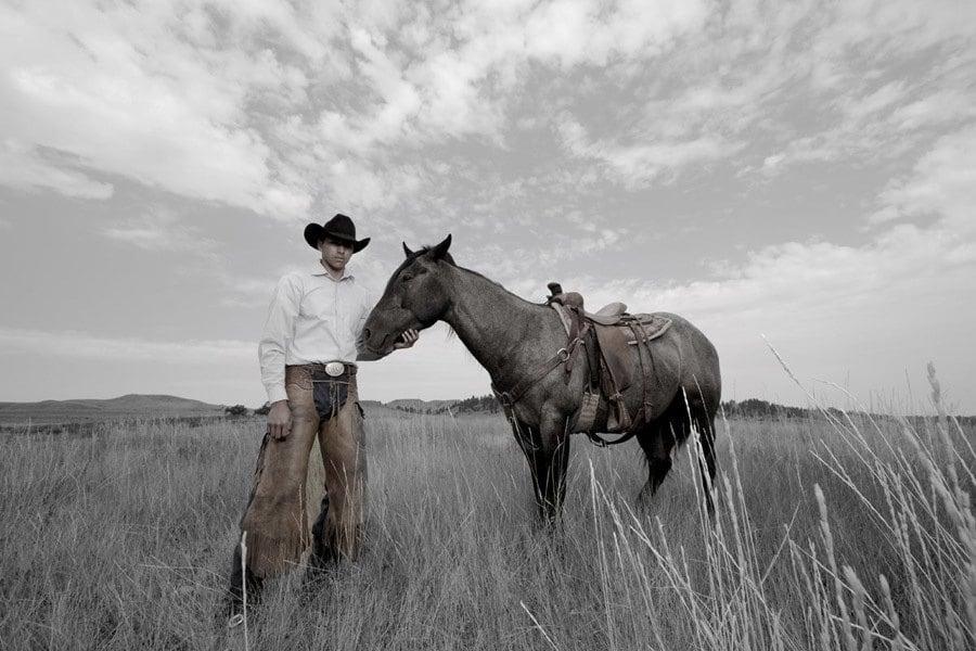 Modern Native Americans Cowboy