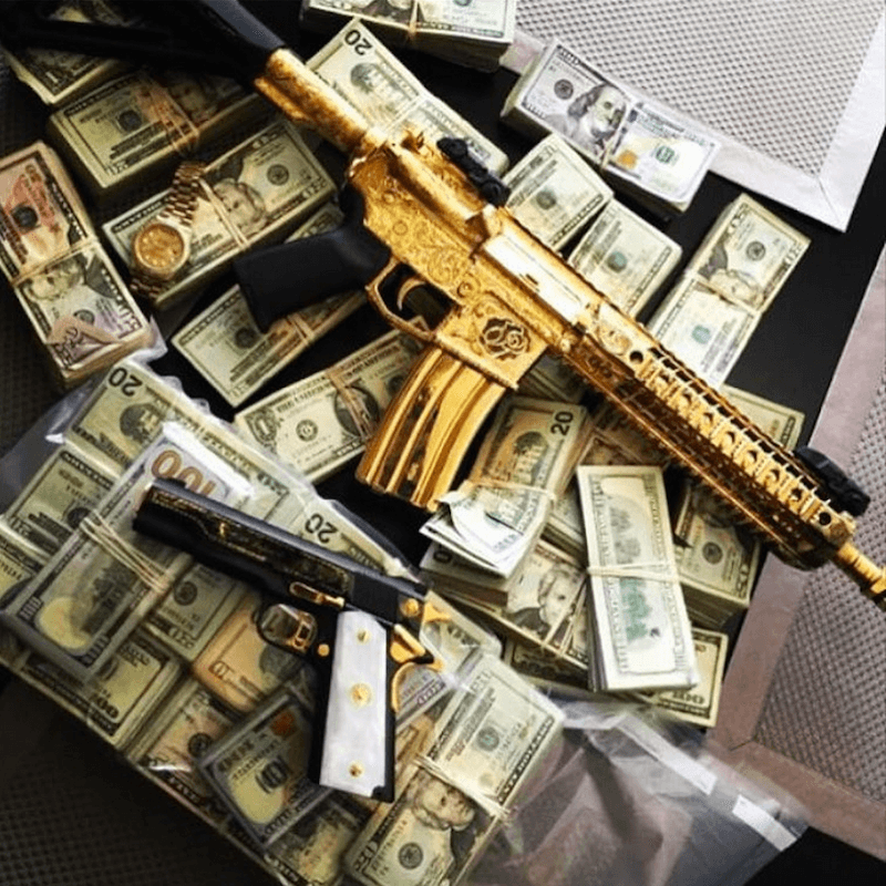 Money Wallpaper: The Crazy Narco Instagram Photos Of Mexico's Drug Cartels