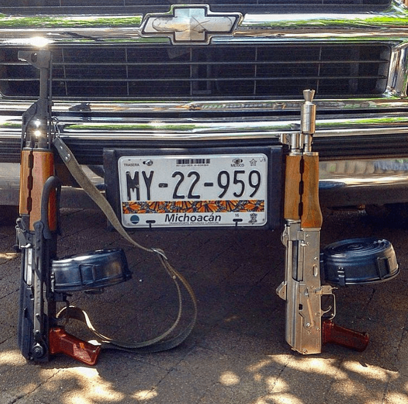 Narco Instagram Guns And Cars