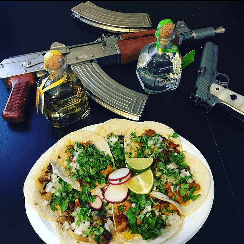 Narco Instagram Taco Tuesday