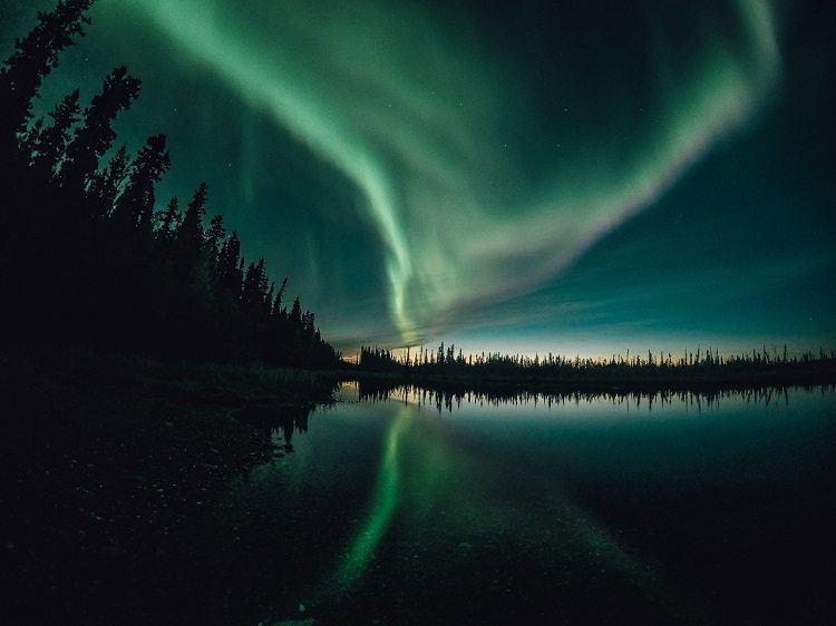 Best Gopro Photos Alaska Night