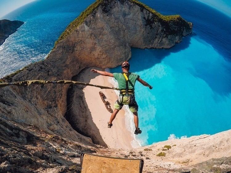 Best Gopro Photos Bungie Jump Beach