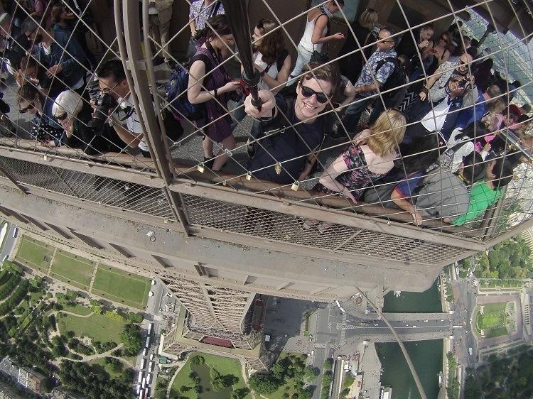 Best Gopro Photos Eiffel Tower