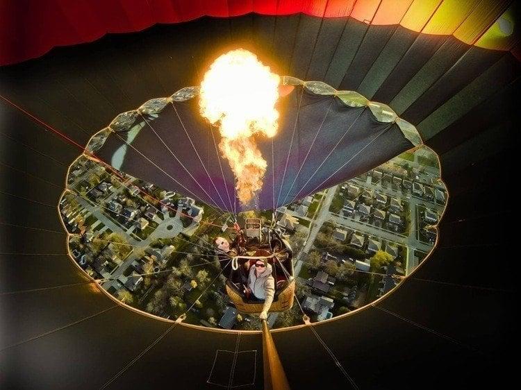 Best Gopro Photos Inside Balloon