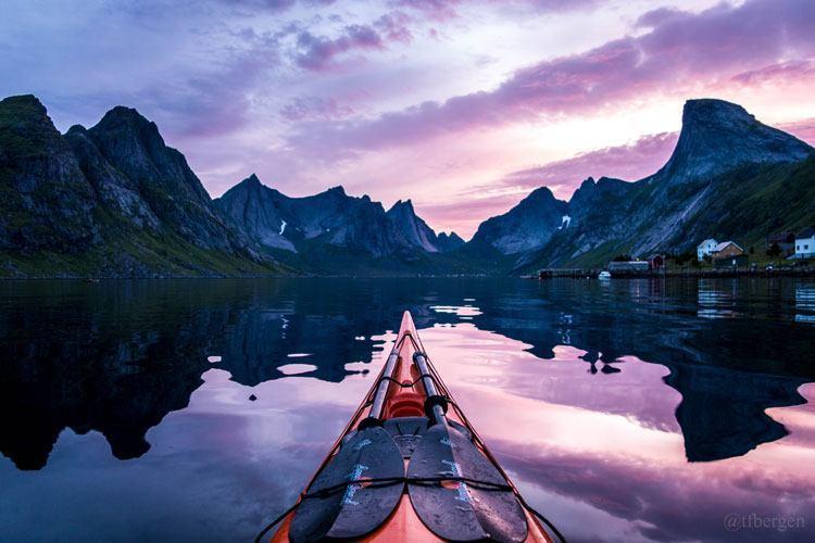 Best Gopro Photos Kayak Norway