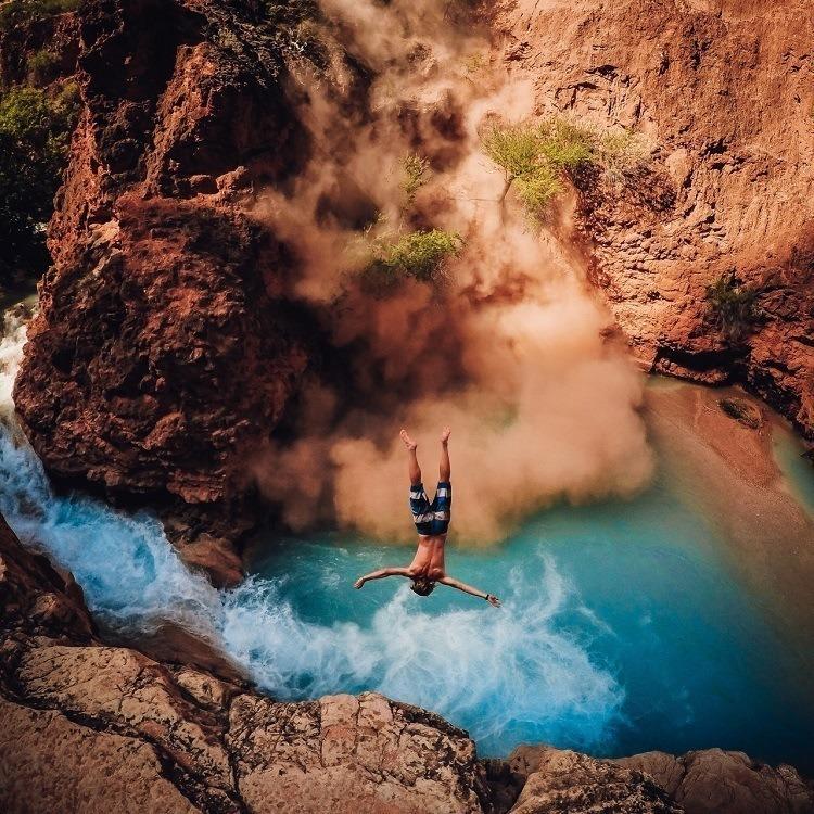Best Gopro Photos Rock Slide Flip