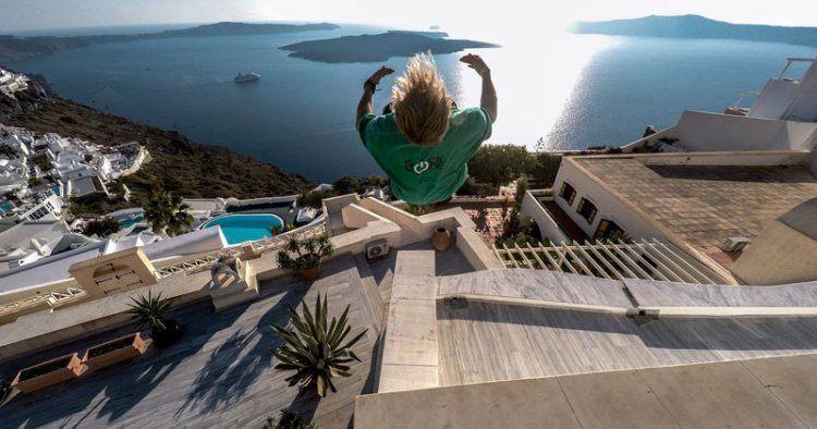 Best Gopro Photos Santorini Greece