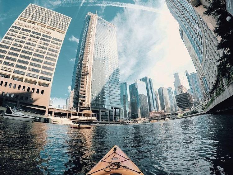 Best Gopro Photos Urban Kayaking